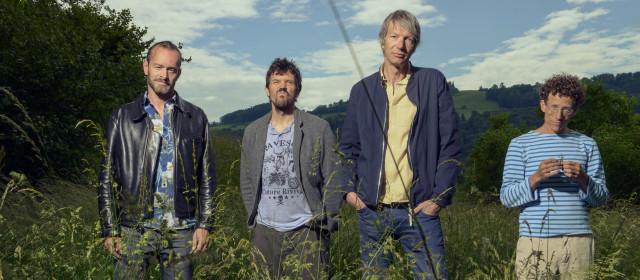 Band mit Gus MacGregor, Oli Hartung, Jüre Schmidhauser und Sam Baur